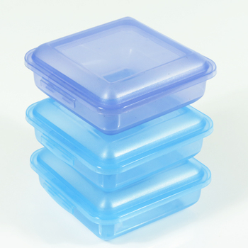 Eco Friendly Promotional Gift Small Square Plastic Lunch Box With Lid
