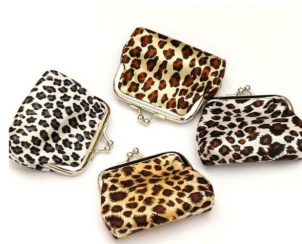 ed0494a10d Get Quotations · Leopard Mixed Colour Dotted Coin purse   Coin Wallet   Pouch  coin purse   Kiss lock
