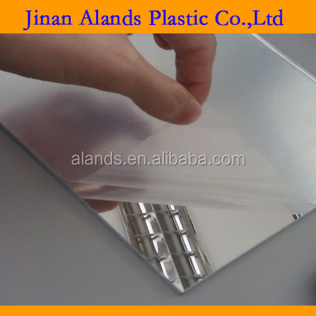 thin acrylic mirror sheet sliver and gold PMMA acrylic sheet