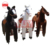 kindergarten kids outdoor playground lovely style kinds of pony mechanical horse toy