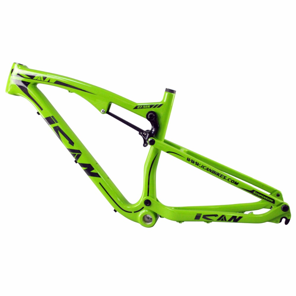 ican mtb carbon frame 27 5 full suspension bike 650b AC156