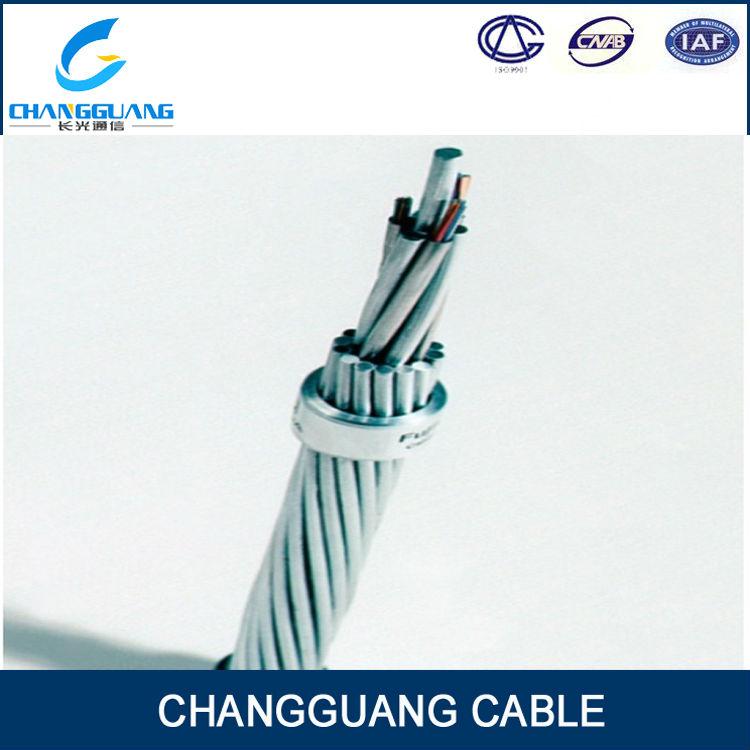 Optical Fiber Composite Overhead Ground Wire Opgw Corning Fiber ...