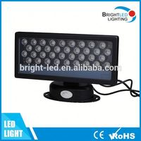 Best quality decorative building lighting 36W wall wash light led linear wallwasher 1M dmx512/changing color rgb led wall washer