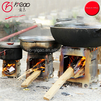 Portable Foldable Outdoor Camping Wood Burning Stove - Buy ...