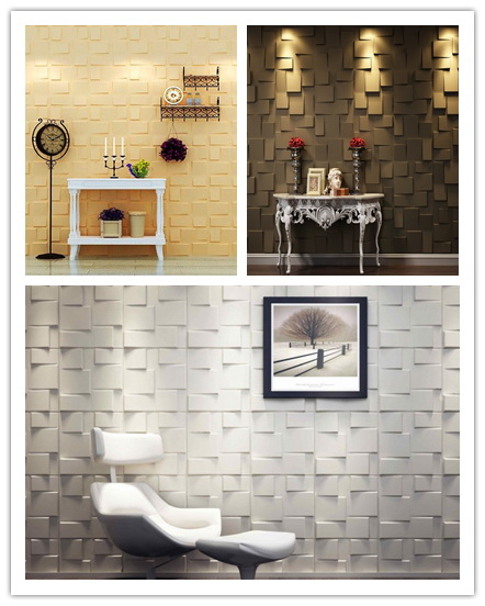 Ecofriendly bamboo hot sale 3d wall panels interior decorative wall panels 3d
