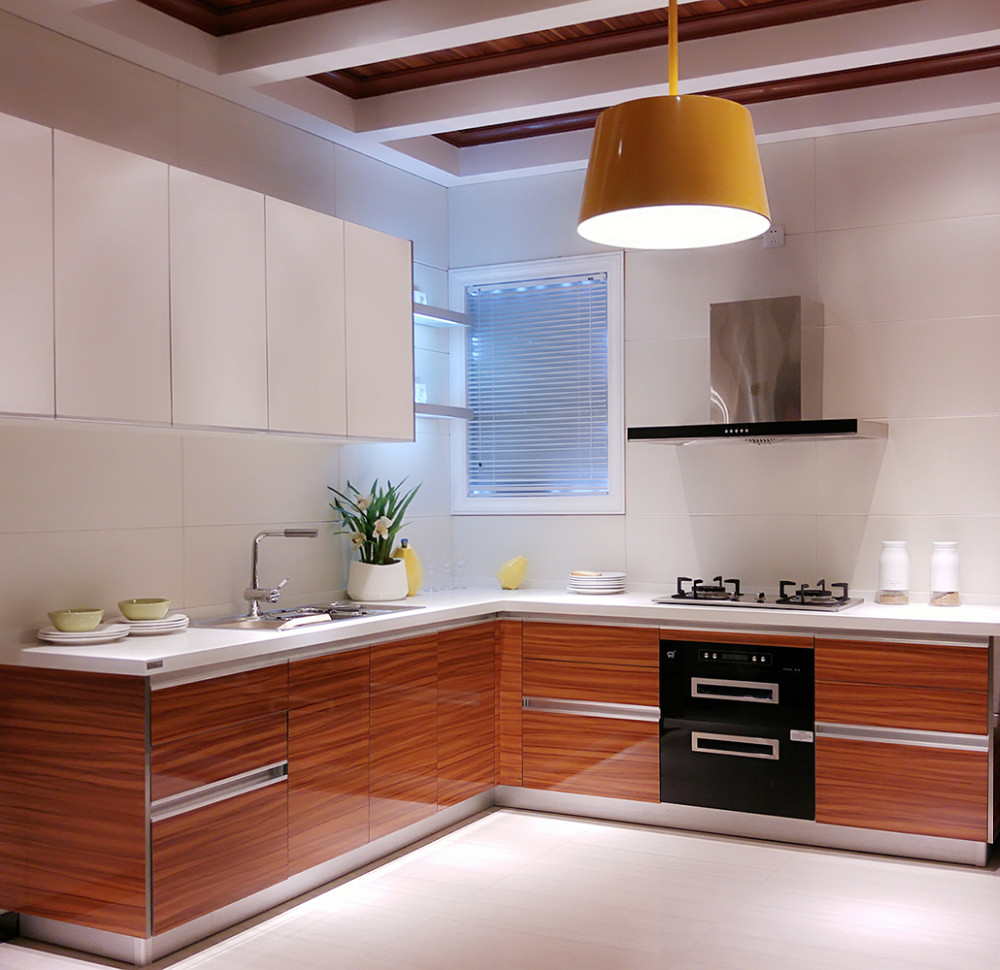 Modular Kitchen Design L Shape: China Foshan Hoja De Acrílico De Alto Brillo Para Mueble
