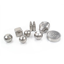 Wholesale Dice Stainless Steel Reusable Whiskey Stones icy cools Metal Ice Cube