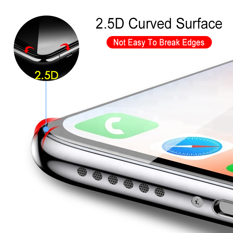 glass protector package custom 9H Flexible film Anti-scratch screen protector tempered glass for iphone 7 screen nano protector