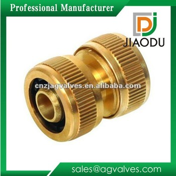 Brass Quick Connect Garden Hose Fitting / Brass Fitting