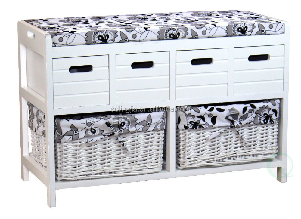 Siting Shoe Cabinet Modern Popular Arts Decorative Cheap Wholesale Room Furniture