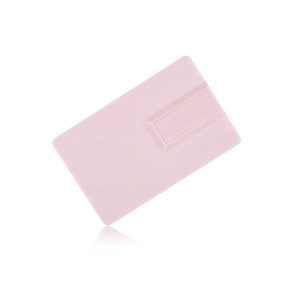 bulk customized plastic credit card 128g usb flash drive with logo