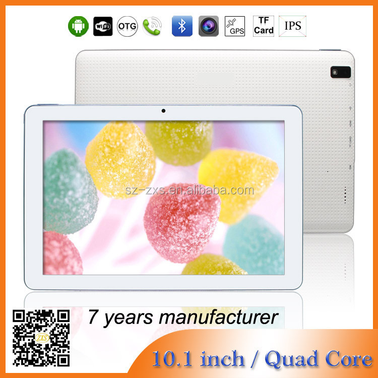 ZXS-103 10.1 inch quad core 3g sim card free download android softwae/shenzhen mid android tablet pc