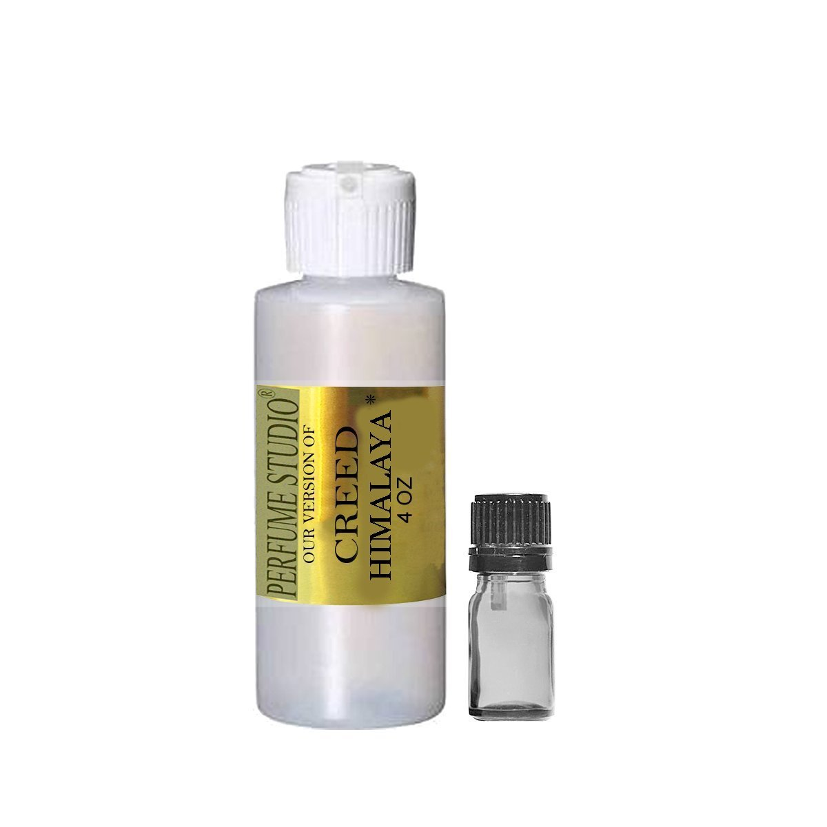 Premium IMPRESSION Perfume Oil Wholesale, SIMILAR Fragrance Accords to Famous Designer Brands - 100% Pure Undiluted, No Alcohol, Free 5ml Empty Glass Euro Dropper (CREED HIMALAYA IMPRESSION, 4OZ)