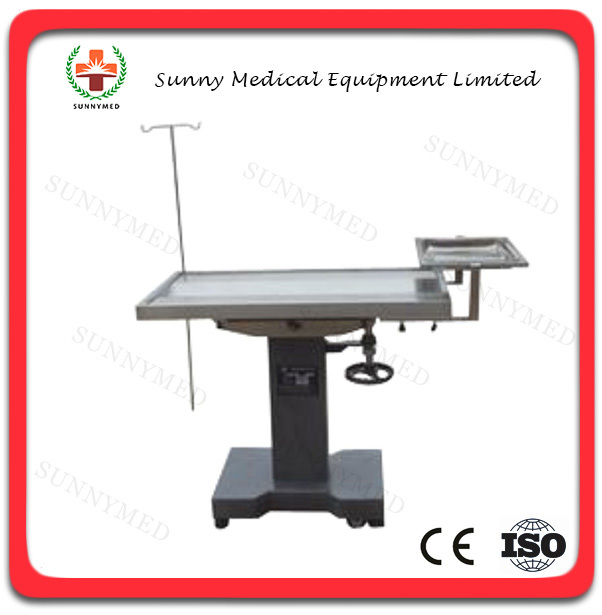 SY-W011new hydraulic easy control cheap animal operation table