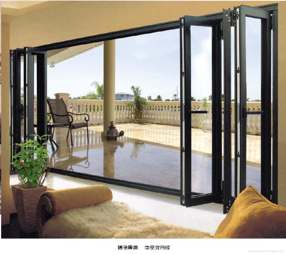 2016 puertas plegables y ventanas de aluminio de estilo for Puertas estilo moderno