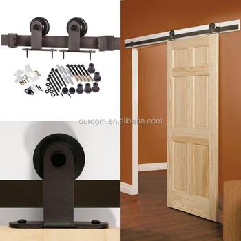 Black Color Barn Closet Sliding Door Mechanism Buy Closet Sliding