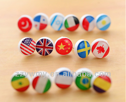 cute small national flag map pins lovely office pins buy national flag pinnational flag pinsflag pins product on alibabacom