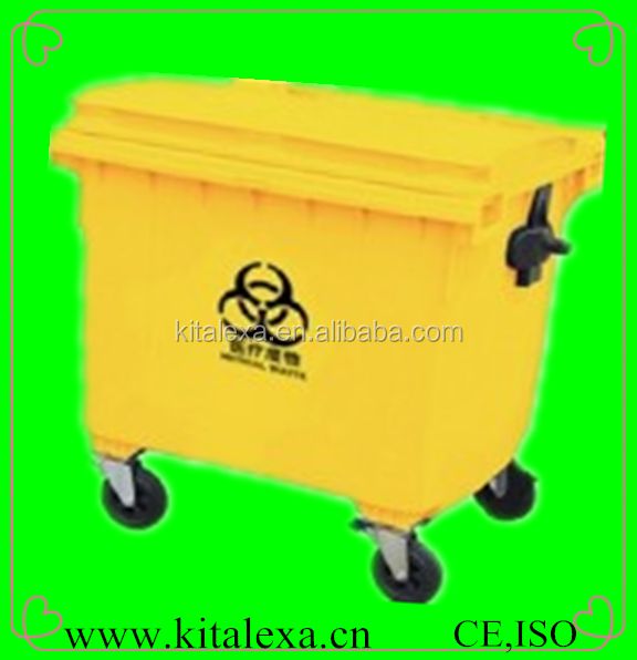 Ka-or000128 1100l Medical Waste Bin/medical Waste Trolley