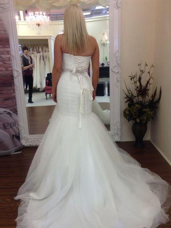 Ne044 New Arrival Vintage Wedding Dress 2017 Scoop Cap Sleeve Chapel Train A Line Lace
