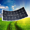 flexible solar module 30W high efficiency solar power for generator system in china