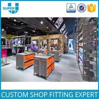 Wholesale Sportwear Suit Clothing Store Fixture Shop Display Sport