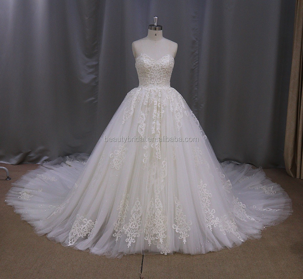Brush Train Princess wedding dress shenzhen julie vino wedding dresses