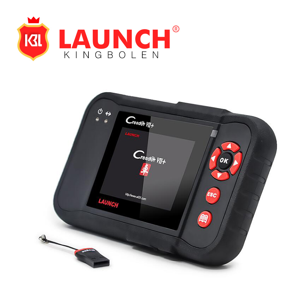 Newest Launch Creader VII+ Auto Code Reader Launch X431 Equal CRP123 Creader VII Plus