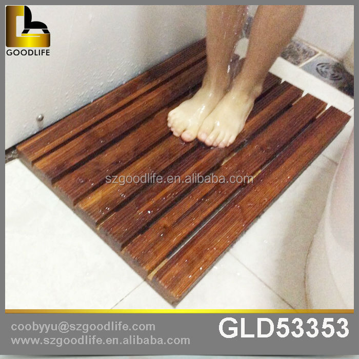 bathroom floor mats for wood wood shower mat wood shower mat suppliers and manufacturers at