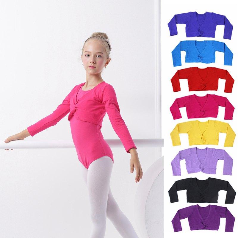 Girls Ballet Leotard Children Long Sleeve Leotard Overall