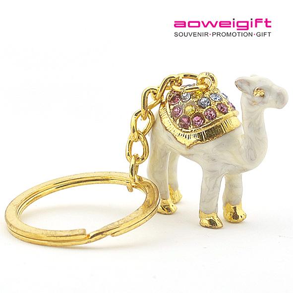 new DuBai Tourist Travel Souvenir Keychain Keyring 3D Camel
