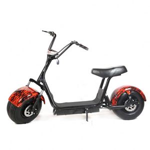 18 Inch 60V 2000W 800W Fat Tire Electric Scooter/Citycoco E-Scooter