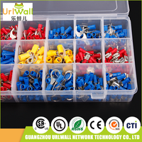520pcs assortment crimp terminals electrical multi cable terminal insulated wire connectors