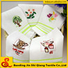 Home textile white cheap linen cotton tea towel kitchen towel dish towel wholesale