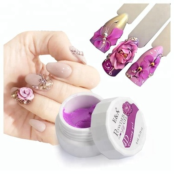 Ea Brand 3d Nail Art Carve Gel Soak Off Gel High Quality Nail ...