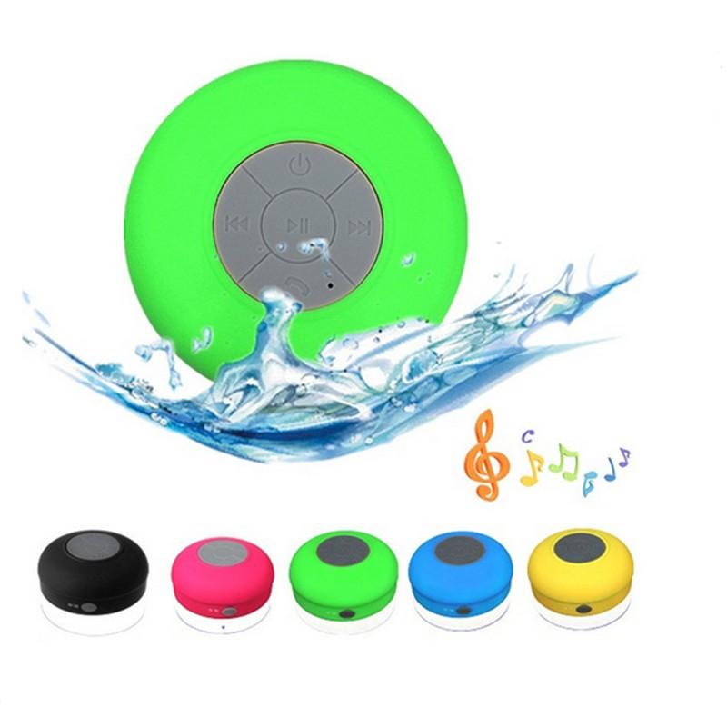 2017 newest mini waterproof bluetooth speaker swimming pool portable water floating wireless for Waterproof speakers for swimming pools