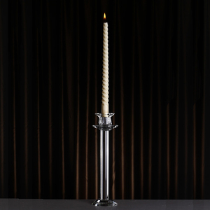 Unique single crystal candle stick for sale
