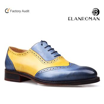 da41687812e Men Brogue Genuine Dress Shoes Slipper Leather Loafers Man Shoes ...