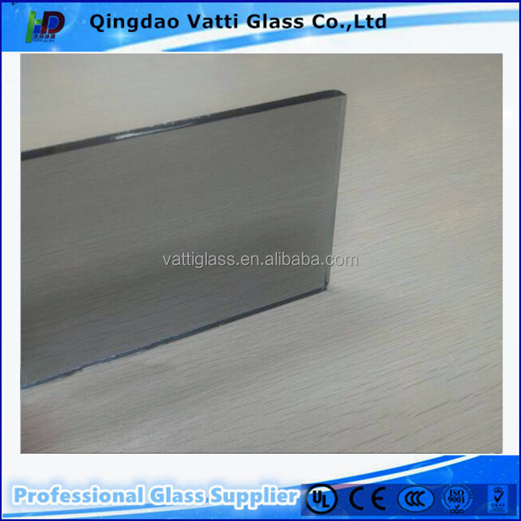 Euro/light grey glass interior home partition