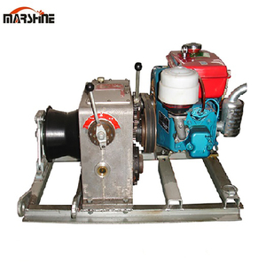 Export Wire Long Rope Pulling Capstan Winch