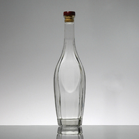 High Quality Fast Delivery Red wine Glass Bottle 750ml