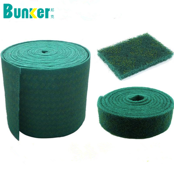 Heavy Duty Green Scouring Pad Scouring Pad Rolls Kitchen Cleaning Scrub Pad Buy Nylon Scouring Pad Abrasive Polishing Pad Scourer Pads Product On