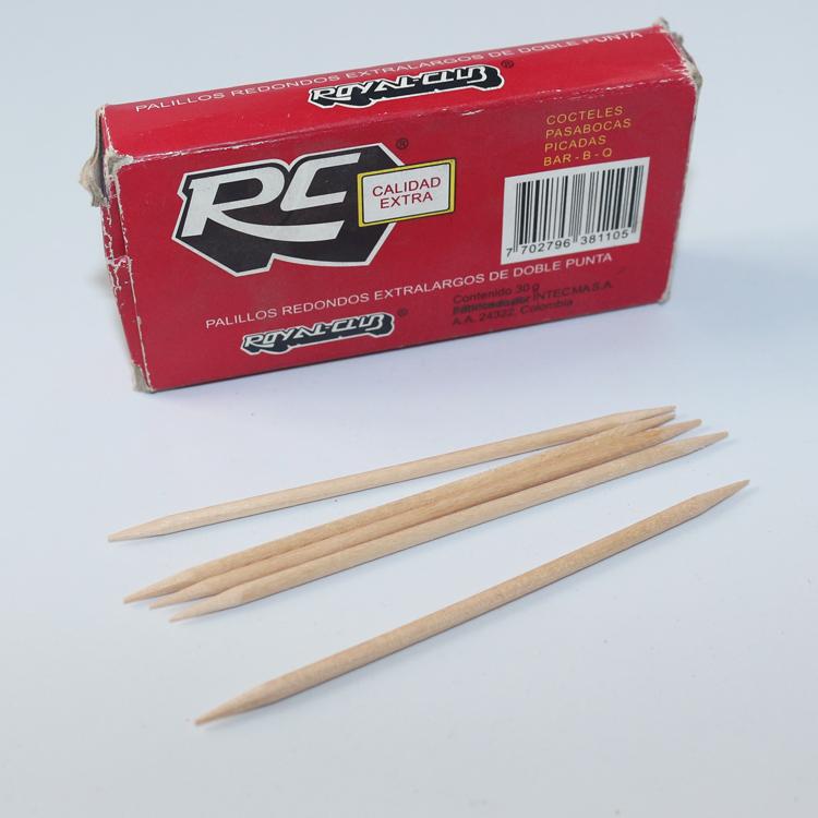 2.6 pollice di Lunghezza di Bambù Stuzzicadenti di Legno Alla Rinfusa 10000 pz/pacco