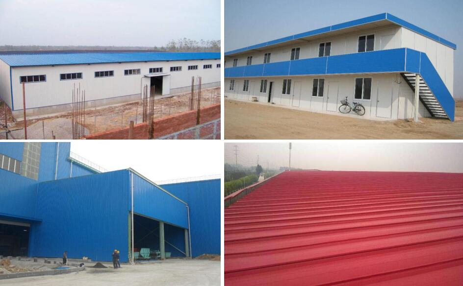 Color Steel Coated Roof Tile Corrugated Roof Metal Roofing