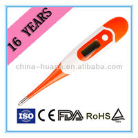 OEM quality digital flexible lcd human body armpit thermometer (DT-K111B)