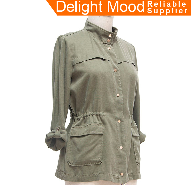 Classic Wahsed OEM fashion style thin light coat for summer season