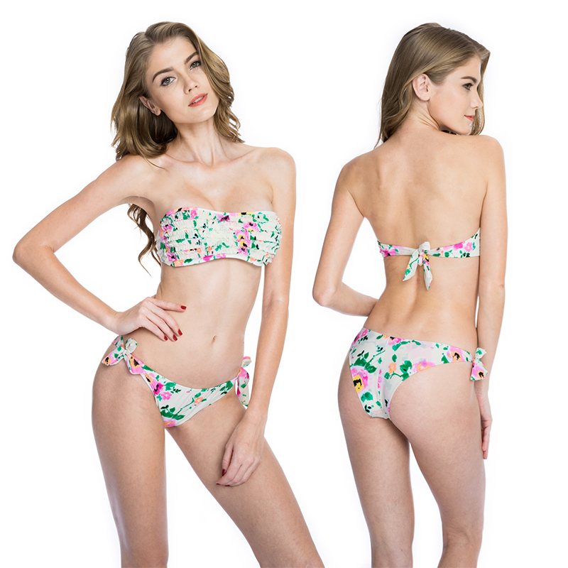 Shop swimwear sale with Beach Bunny for discounts on bikinis beach cover ups and lingerie.