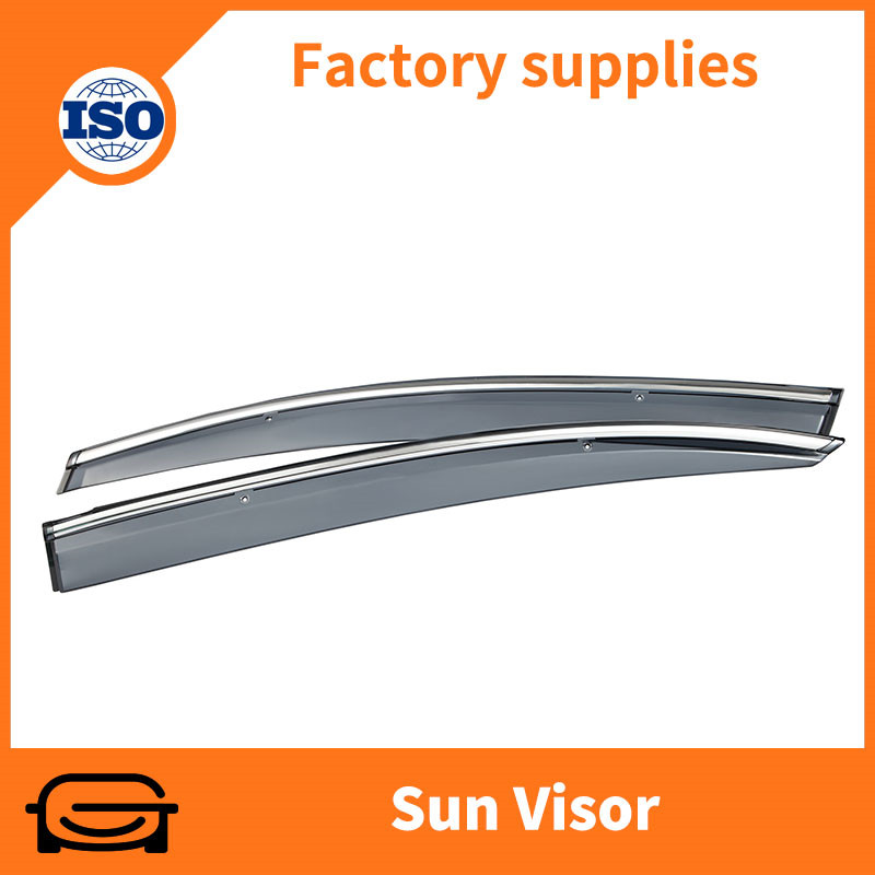 Chrome trim exterior sun visor for Honda Civic 2012