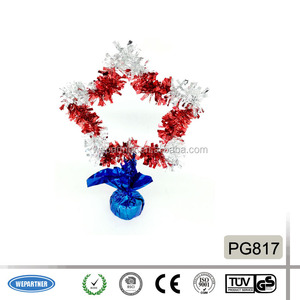 Christmas Festive Table Decoration Star & Fireworks Shaped