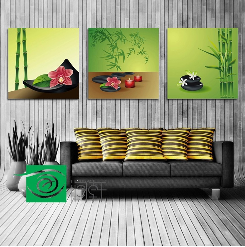 3 panel wall art feng shui the picture home decoration living room for living room wall wall. Black Bedroom Furniture Sets. Home Design Ideas