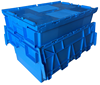 cheap nesting plastic distribution containers/plastic turnover box
